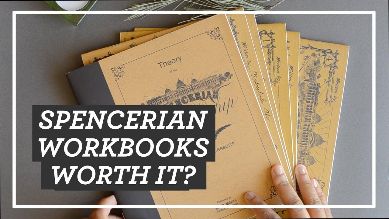 Spencerian Workbooks Worth It Spencerian System Of Practical