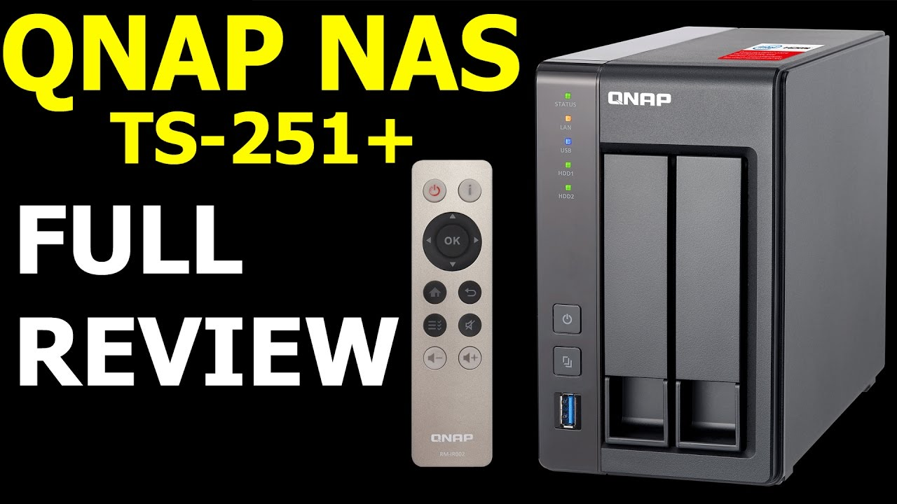 QNAP NAS Drive Full Review TS251+ /w Hybrid Backup Sync and IFTTT