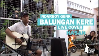 Cover images Balungan Kere - NdarboyGenk, HASAN Live Cover @MamYam_Jogja  [ Jogja Musik Project  ]