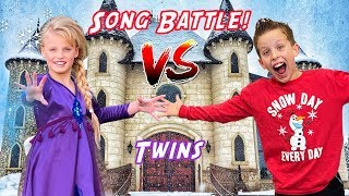 Frozen 2 Song Battle! Paxton Vs Payton Music Videos