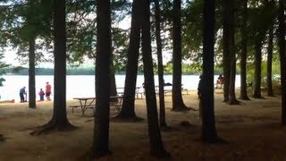 Canoe Race Registration at Lake Wentworth, NH