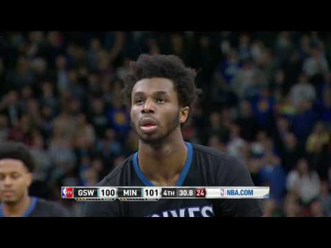 Golden State Warriors vs MinnesotaTimberwolves | March 10, 2017 | NBA 2016-17 Season