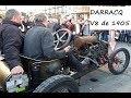 Darracq V8 1905 en action... ça chauffe!