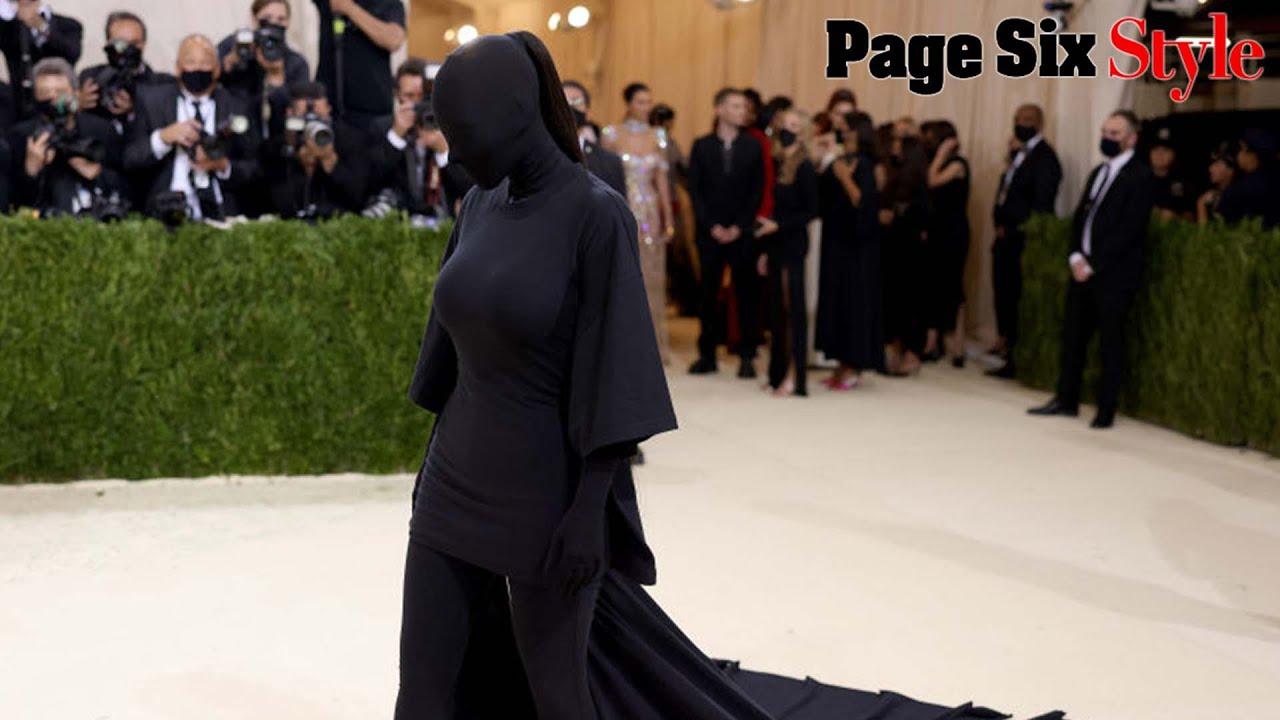 Was Kanye West Kim Kardashian's masked date at Met Gala 2021?