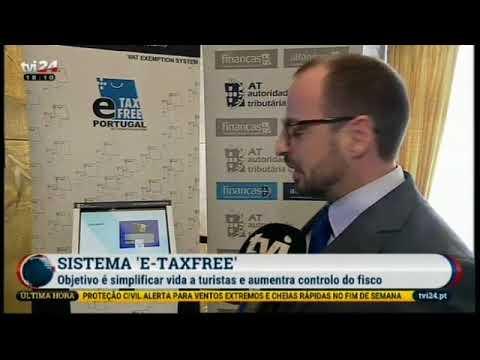 TVI24 - Noticias 16/04/2018 - Cimeira sobre turismo qualidade compras - Tax-Free