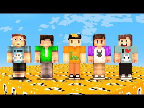 THE PALS vs. 1 MILLION LUCKY BLOCKS! (Minecraft)