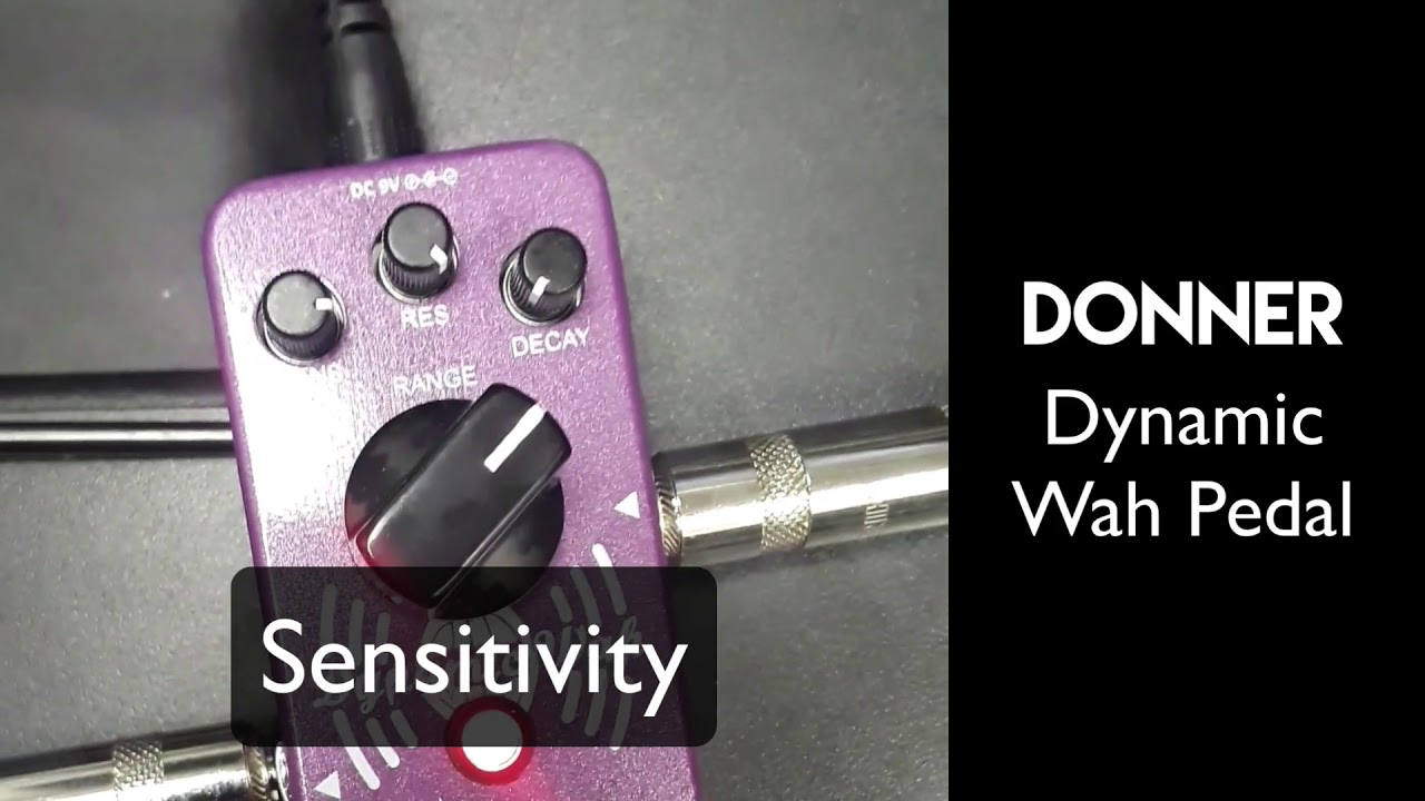 Gear Review Donner Dynamic Wah Fx Pedal Youtube