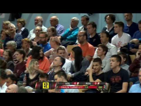 Union Olimpija : Rogaška - Finale - U17 v sezoni 2016/17