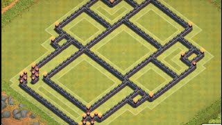 EPIC+BEST Town Hall Level 8 Trolling Base for Clash of Clans