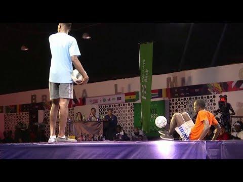 تجمع لكل محبي كرة القدم الاستعراضية من 15 دولة أفريقية  - 16:55-2019 / 9 / 20