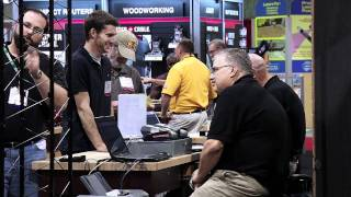 Power Tools At The International Woodworking Fair