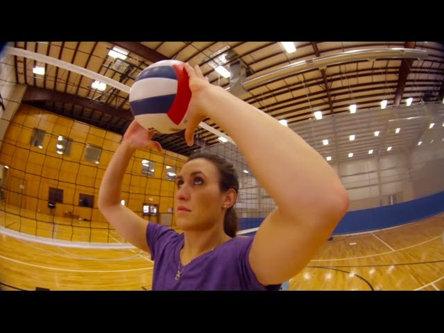 Setting Tips - Terry Liskevych - The Art of Coaching Volleyball