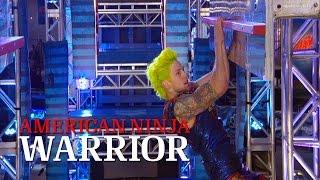 Jamie Rahn at the St. Louis Finals | American Ninja Warrior