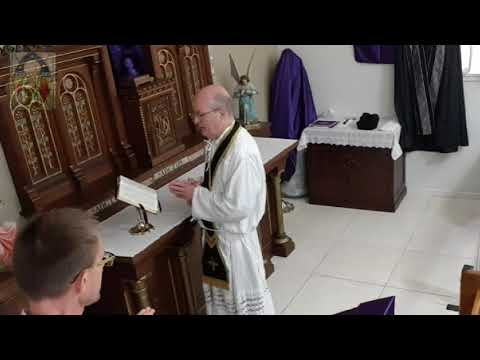 2019-04-19 Good Friday Full Sung Traditional Catholic Mass - SSPX Resistance
