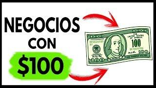 10 Negocios con Menos de $100 para Montar HOY MISMO 💵