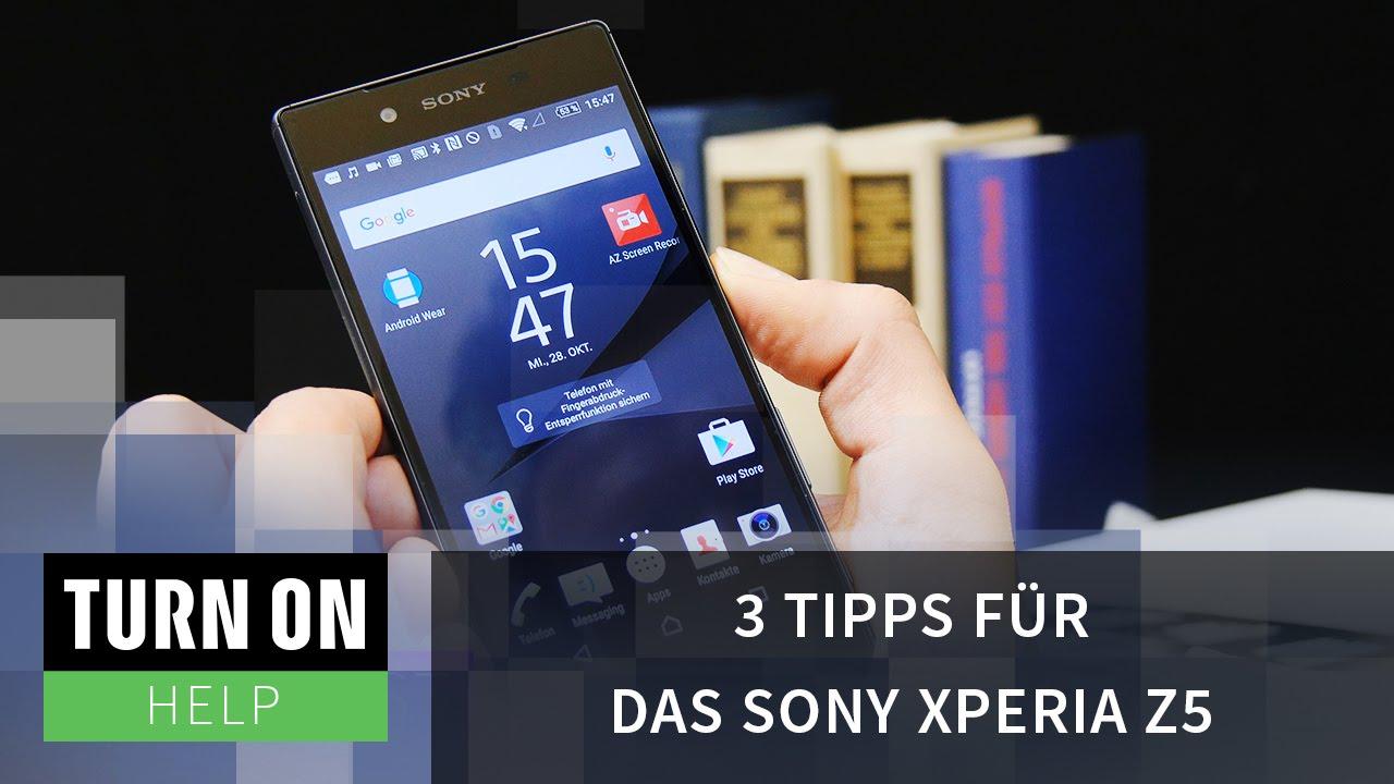 Sony z5 muster vergessen