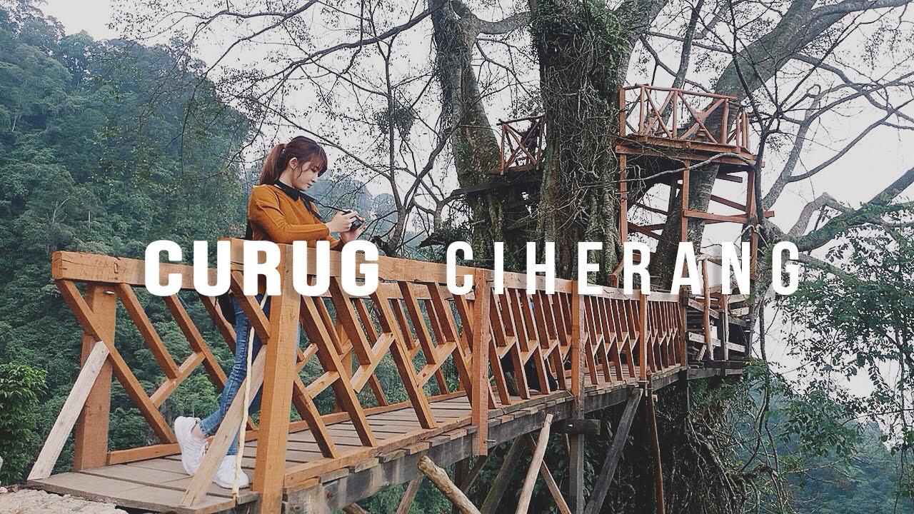 Cedera Di Curug Ciherang Vlogfani Travelvlog Youtube