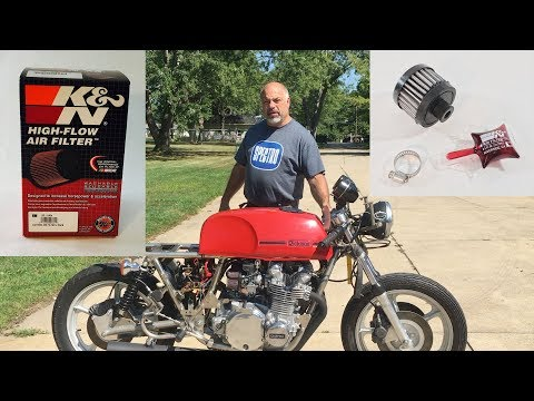 K&N Air Filters Rickman Z1 Project UPDATE 8-17
