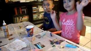 Kids Fun Crafts Clothes Pins