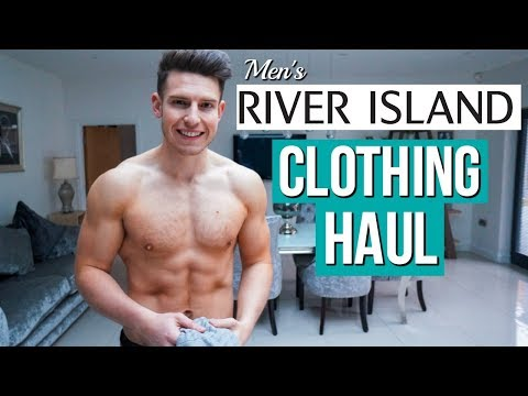 Men's RIVER ISLAND Clothing HAUL & TRY ON | Spring 2018