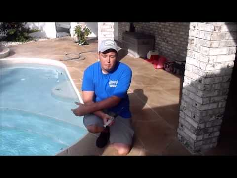 Swimming Pool Leak Detection Melbourne Fl Youtube