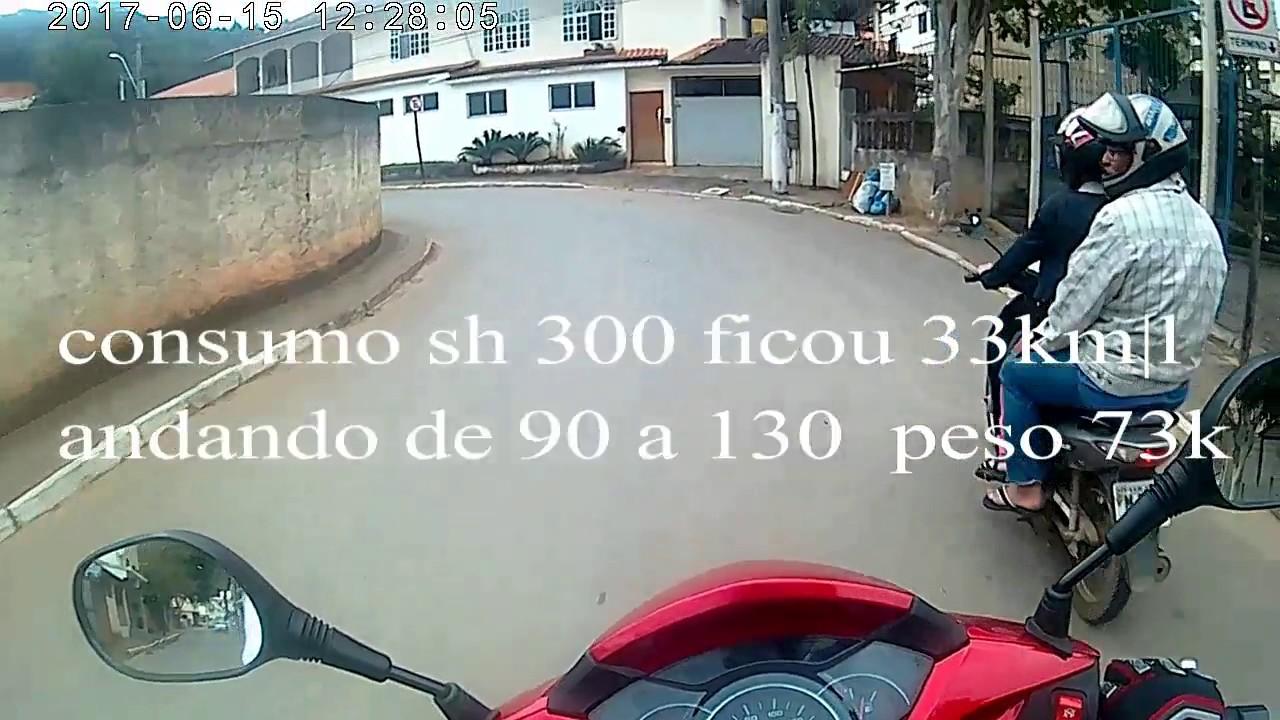 Consumo Honda Sh300 Youtube