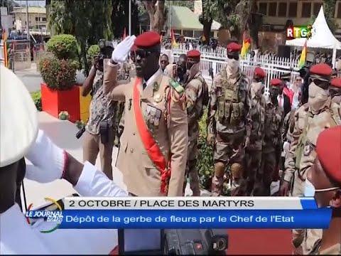 www.guineesud.com - Conakry, 2 octobre 2021 : le Chef de l'Etat à la place des Martyrs