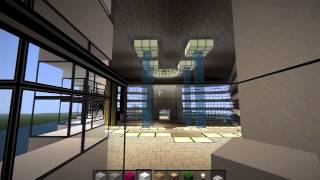 Dubai 7-Star Hotel Burj Al Arab in Minecraft
