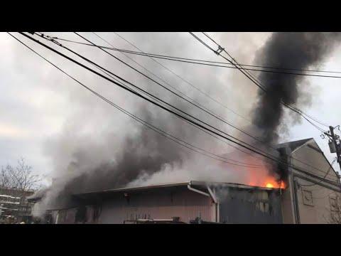 Perth Amboy Working Warehouse Fire 2018