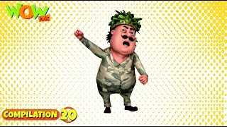 Motu Patlu - Non stop 3 episodes | 3D Animation for kids - #20