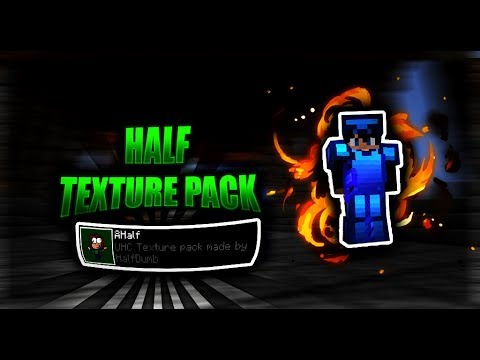 Half Texture Pack UHC / Texture pack de HalfDumb 1.8 - YouTube