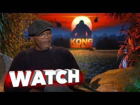 Kong Skull Island: Samuel L. Jackson Exclusive Movie Interview
