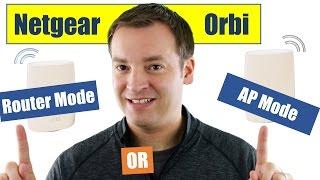Netgear Orbi - Was ist AP-Modus, Müssen Sie es, Wie Sie es bekommen