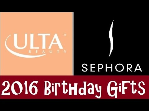 Sephora & Ulta Birthday Gifts for 2016 | Beautify Your Life - YouTube