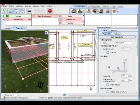 3d home design by livecad tutorials 03 the terrace youtube