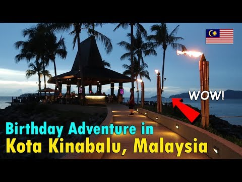 BIRTHDAY ADVENTURE in KOTA KINABALU, MALAYSIA | June 24th, 2017 | Vlog #149