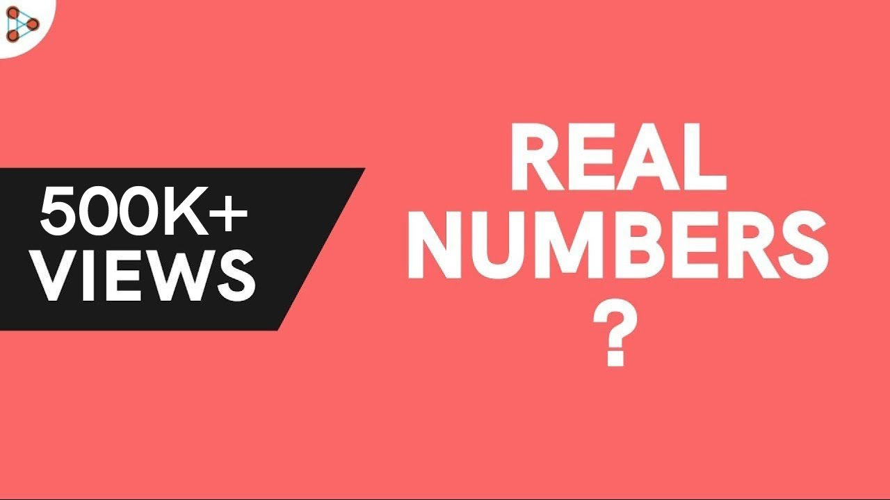 What Are Real Numbers Youtube