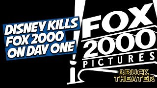 Disney scuttles Fox 2000 on the first day