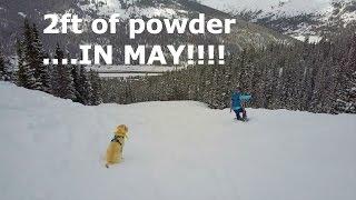 2 Feet of Powder....IN MAY!!!  - GOPRO, DJI MAVIC