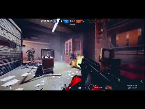 """Conflict: """"Fingers Blue"""" feat. Beaulo - Rainbow Six Siege Frag Movie"""