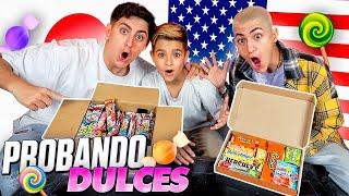 PROBANDO DULCES AMERICANOS y JAPONESES *sabor H0RRIBLE*