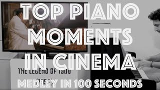 Top Piano Moments in Cinema - Medley in 100 (x2) seconds - 3/5