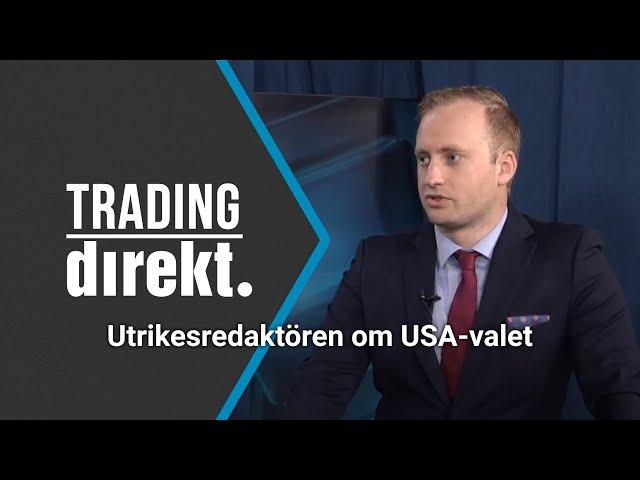 Trading Direkt 2020-09-25: Teknisk analys - bästa fastighetsaktien? / Utrikesredaktören om USA-valet