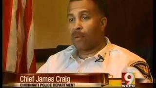 Cincinnati Police Chief James Craig warns would-be criminals