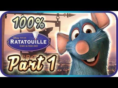 ratatouille walkthrough part 1 � 100 � the movie game ����