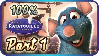 Ratatouille Walkthrough Part 1 • 100% • The Movie Game ᴴᴰ (PS2, Wii, Gamecube, XBOX, PC)