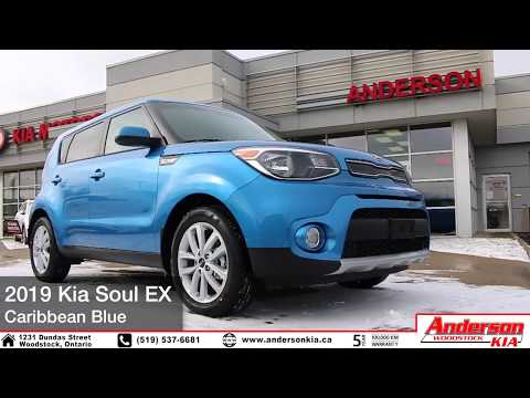 Kia Soul EX (Caribbean Blue) - Features