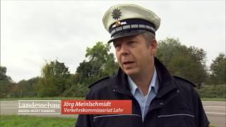 Polizei rettet Kniegelenk