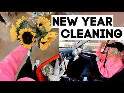 VLOG: deep cleaning my apartment & getting my life together for the new year