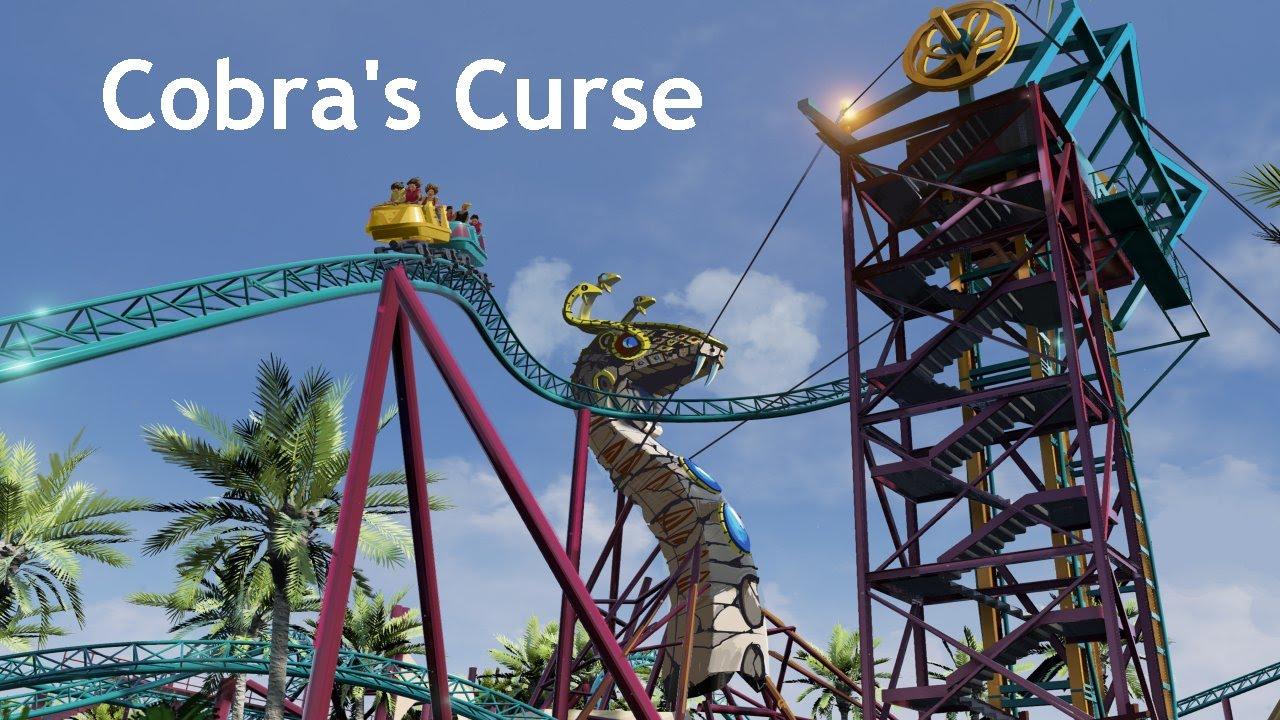 Cobra 39 S Curse Pov Hd Promo Busch Gardens Tampa Family Spin Roller Coaster Snake Realm Youtube